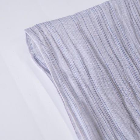ストール / 雨絣 薄青紫