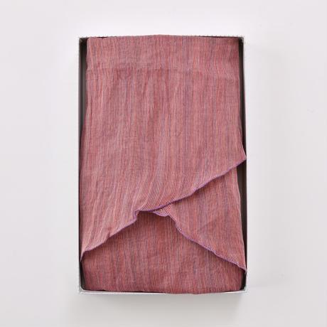 ストール / 変わり万筋  縞 紫 / XL