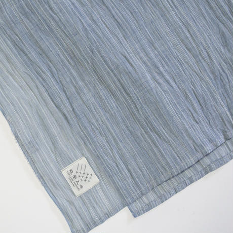 ショートストール / 雨絣 灰