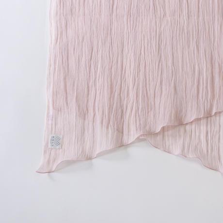 ショートストール / 雨絣 薄桜