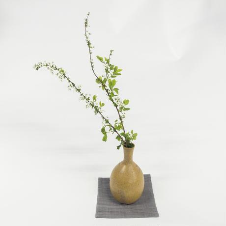 小袱紗・花瓶敷 / 縞 青