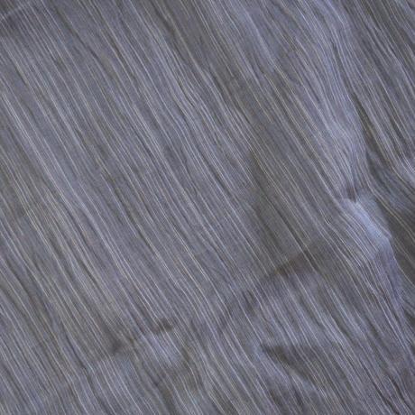 ショートストール / 雨絣 濃灰