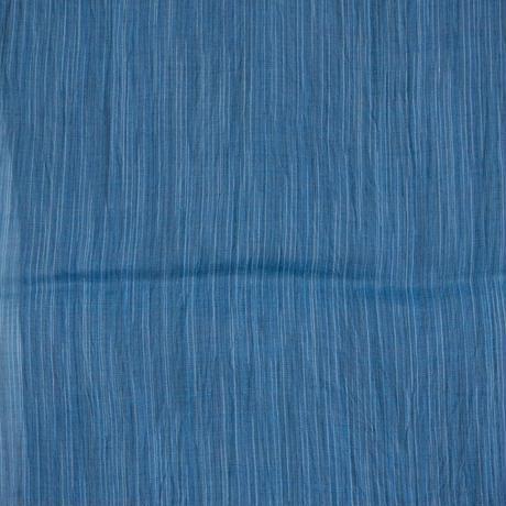 ショートストール / 雨絣 濃青