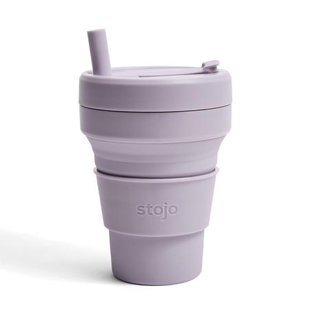Stojo Cup BIGGIE 16oz/473ml (LILAC)
