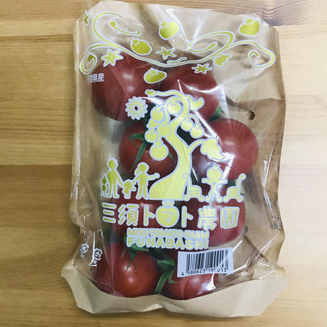 中玉トマト「フルーティカ」1袋(三須トマト農園:船橋市印内)