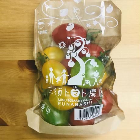 ミニトマト「カラフルトマト」1袋(三須トマト農園:船橋市印内)