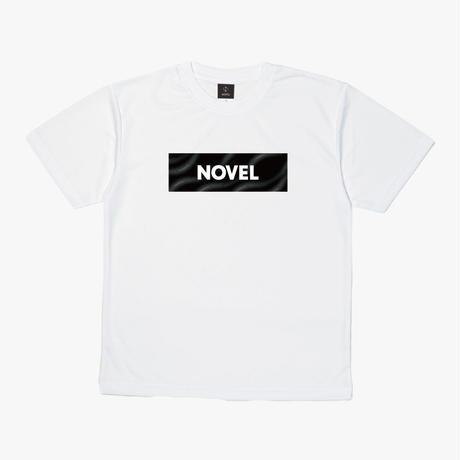 "【DRY T-shirt】Label-T ""Dark Matter""[WHITE]"