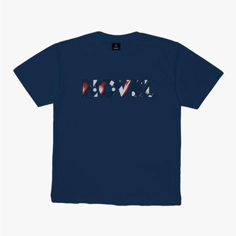 """【DRY T-shirt】Logotype-T """"TO BEYOND""""[INDIGO]"""
