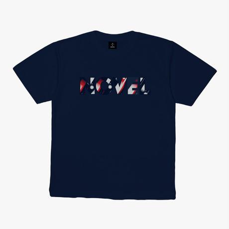 "【DRY T-shirt】Logotype-T ""TO BEYOND""[NAVY]"
