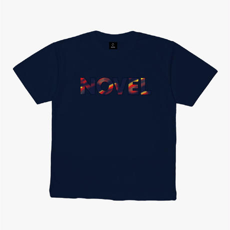 """【DRY T-shirt】Logotype-T """"13 Seconds Later""""[NAVY]"""