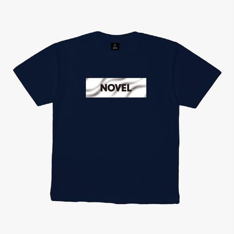 "【DRY T-shirt】Label-T ""Dark Matter""[NAVY]"