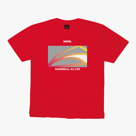 【DRY T-shirt】Court Graphic[RED]