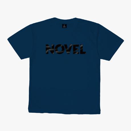 """【DRY T-shirt】Logotype-T """"Dark Matter""""[INDIGO]"""