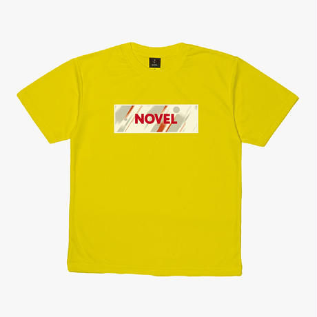 """【DRY T-shirt】Label-T """"TO BEYOND""""[YELLOW]"""