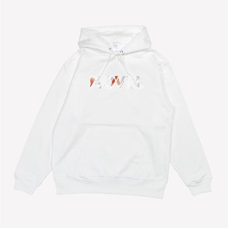"【Hoodie】Logotype ""TO BEYOND""[WHITE]"