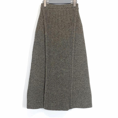 KNIT RIB SKIRT【WOMENS】