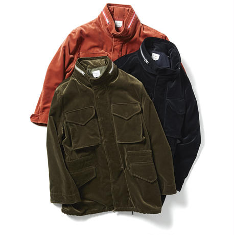VELOUR FIELD JACKET