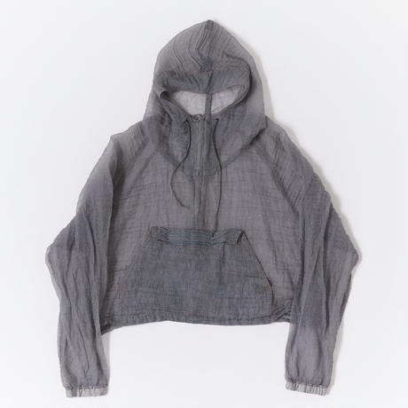 SEE THROUGH SHORT ANORAK【WOMENS】