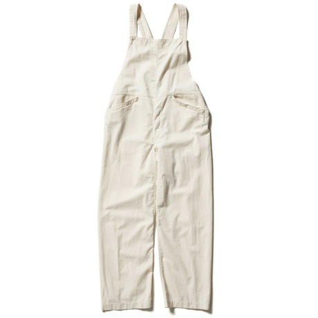 COTTON TWILL OVER ALLS 【WOMENS】