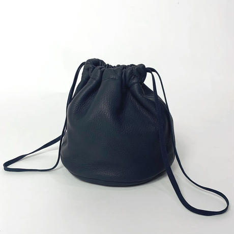 MILITARY LEATHER PURSE (NAVY)