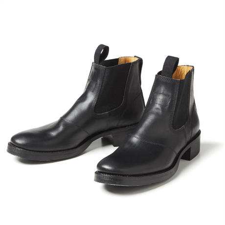SIDE GORE BOOTS  /BLACK