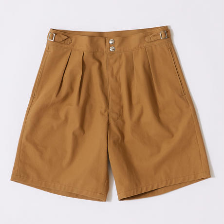 WIDE GURKHA SHORTS【MENS】
