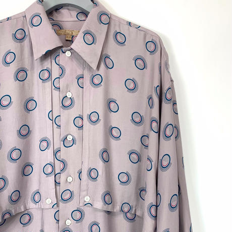 CIRCLE DOT LONG SHIRT【MENS】
