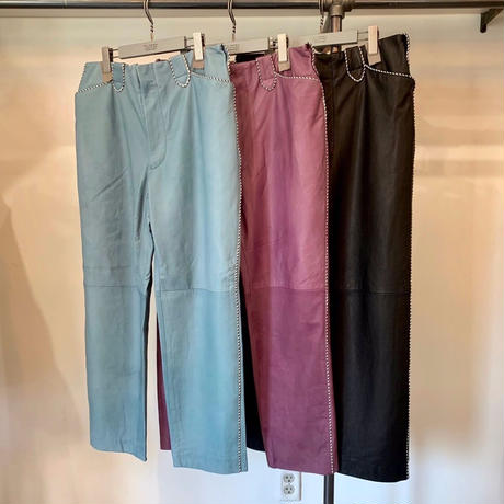 WESTERN LEATHER PANTS【MENS】