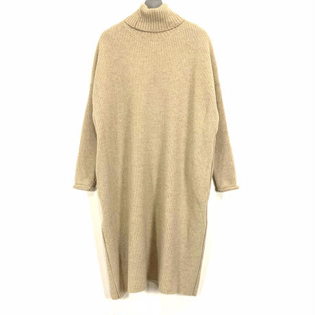 TURTLE OVERLAP KNIT【WOMENS】