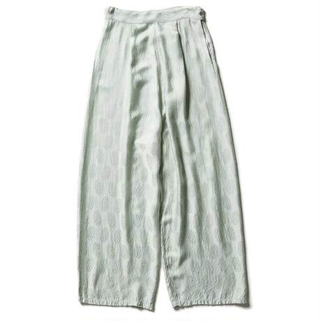 RAYON STOLE JACQUARD WIDE PANTS 【WOMENS】