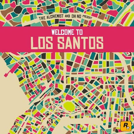 V.A (The Alchemist & Oh No) The Alchemist & Oh No Present Welcome To Los Santos -2LP-