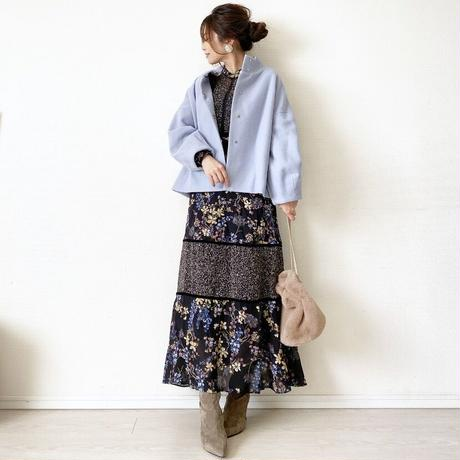 short coat (Pepe Blue)
