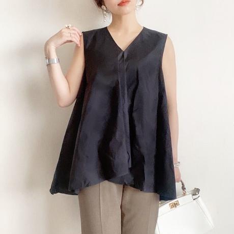 flare pullover <black>