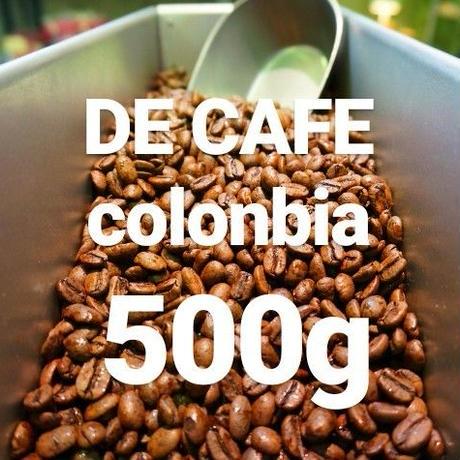 """DECAFE colonbia """"デカフェ コロンビア産"""" 500g"""