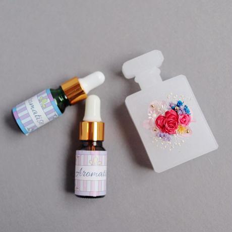 ローズ系アロマブレンドオイル(芳香専用)キャンドルやサシェの香り付に