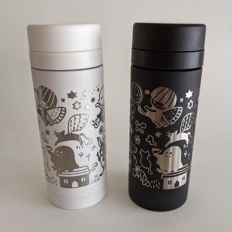たんじあきこ :サーモ ステンレスボトル(水筒)