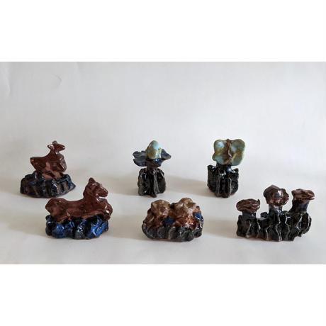 きくちちき:動物オブジェC(陶器)