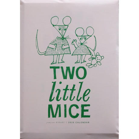 yamyamカレンダー2020「TWO little MICE」