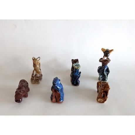 きくちちき:動物オブジェF(陶器)