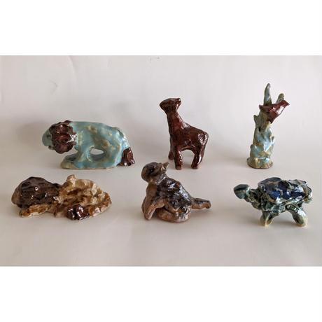きくちちき:動物オブジェG(陶器)