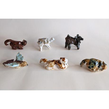 きくちちき:動物オブジェL(陶器)