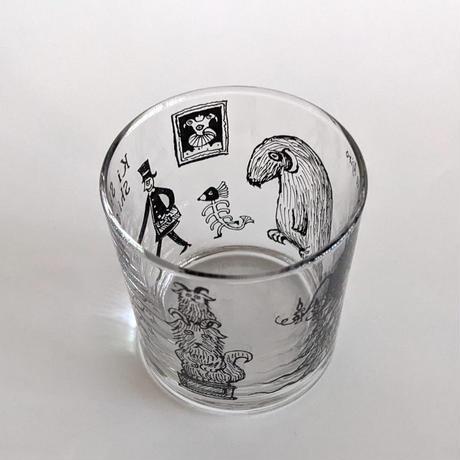 網代幸介『てがみがきたなきしししし』グラス