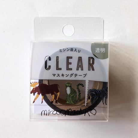 ミロコマチコ:透明マスキングテープ「けもの」