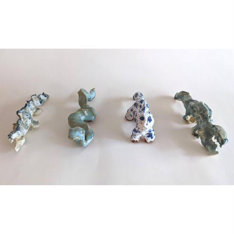 きくちちき:動物オブジェN(陶器)