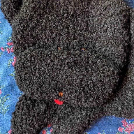 谷みゆき:ワンニャンバッグ12(黒犬)