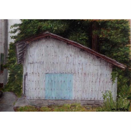 マメイケダポスター「小屋」