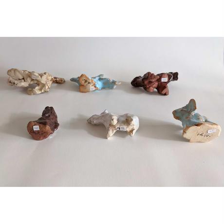 きくちちき:動物オブジェM(陶器)