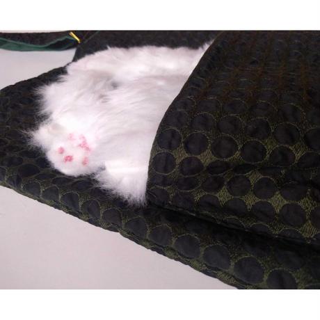谷みゆき:ワンニャンバッグ(白猫)