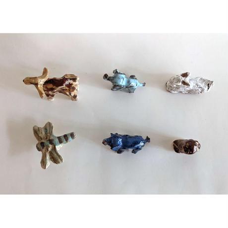 きくちちき:動物オブジェE(陶器)