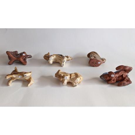 きくちちき:動物オブジェJ(陶器)